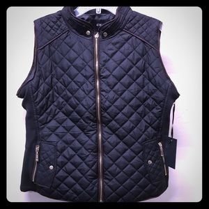 Jackets & Blazers - NWT Plus size quilted vest 1XL